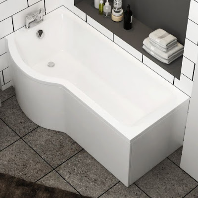 P Shaped Bath Panel