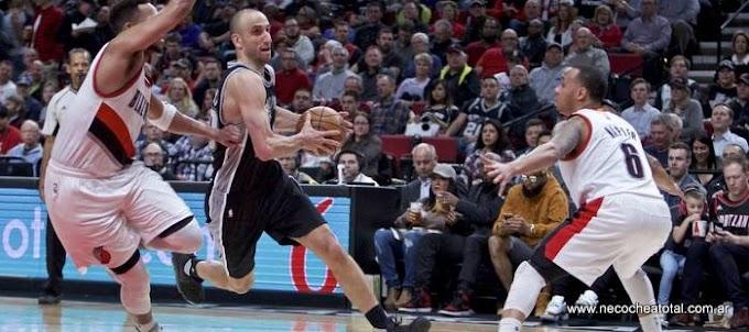 Ginóbili le dio otra victoria a los Spurs