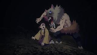 鬼滅の刃アニメ 劇場版 無限列車編   嘴平伊之助 かわいい Hashibira Inosuke   Demon Slayer Mugen Train