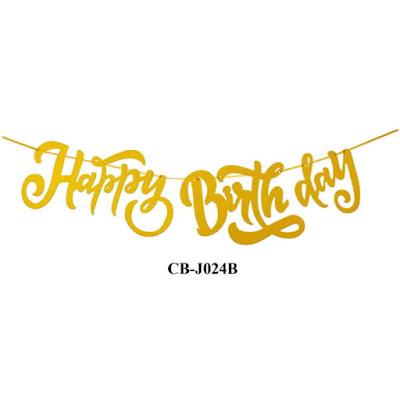 Bunting Garland HAPPY BIRTHDAY CB-J024B