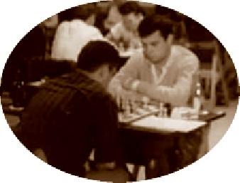 Anguera en el Campeonato de España de ajedrez por equipos 1964