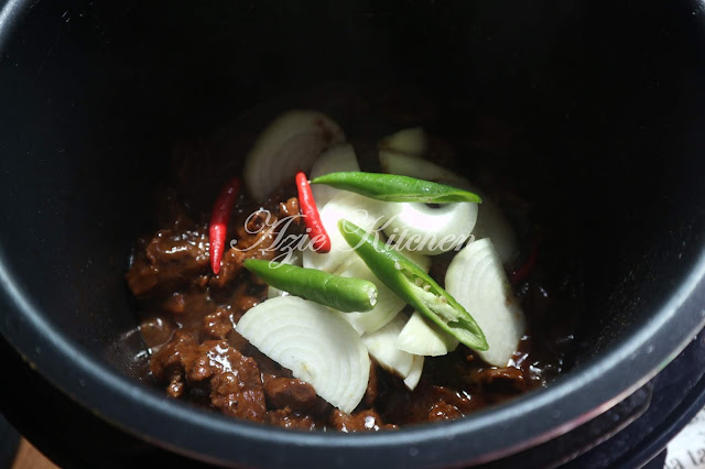 Daging Masak Black Pepper Yang Mudah Dan Sedap