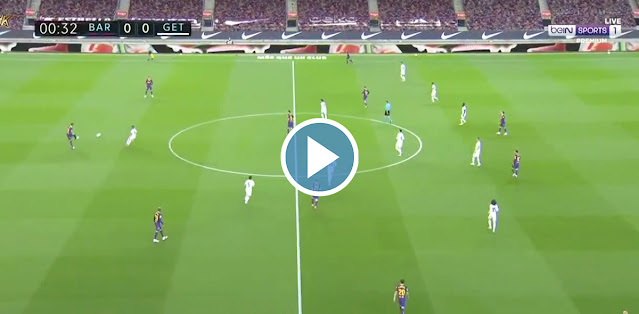 Barcelona vs Getafe Live Score