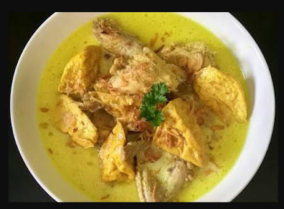 Cara dan bahan membuat opor ayam yang sederhana tapi enak gurih dan lezat