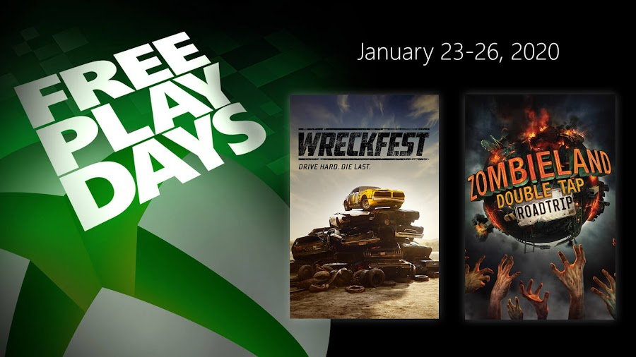 wreckfest zombieland double tap road trip xbox live gold free play days event high voltage software game mill bugbear entertainment