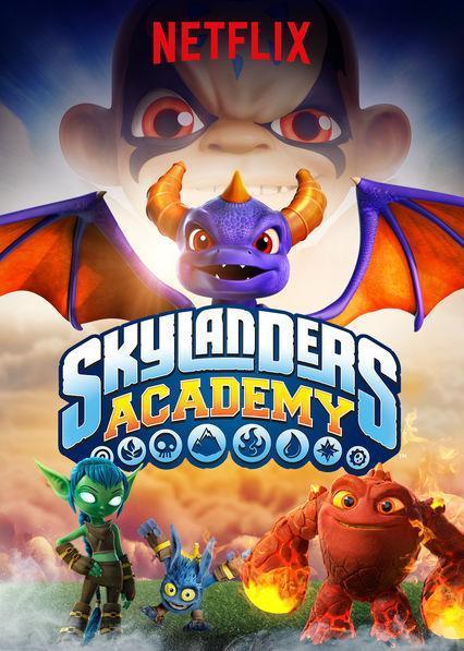 Skylanders Academy Temporada 1 a la 3 Completa 720p Latino