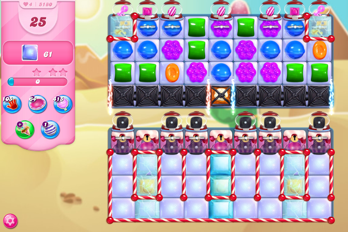 Candy Crush Saga level 5180