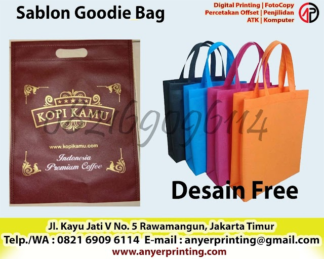 Sablon Goodie Bag Rawamangun