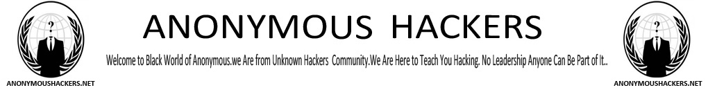 Anonymous Hackers - Anonymous Group Official Website