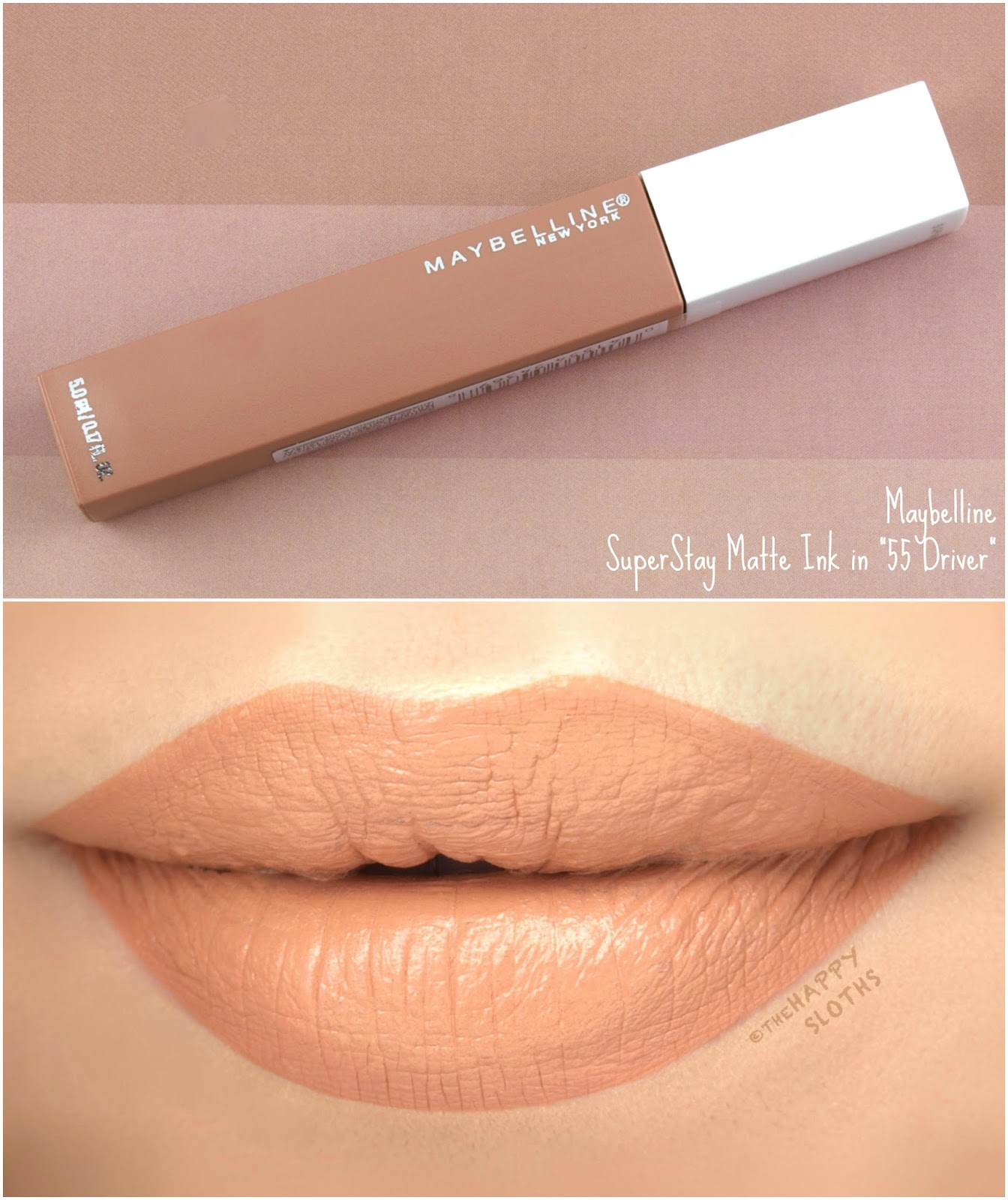 "Maybelline | SuperStay Matte Ink ""55 Driver"": Review and Swatches"