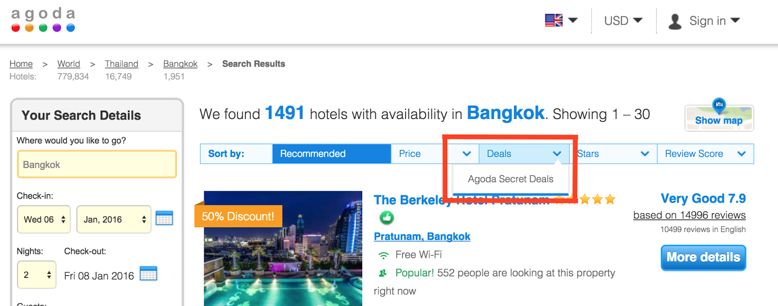 booking.com secret deals new york