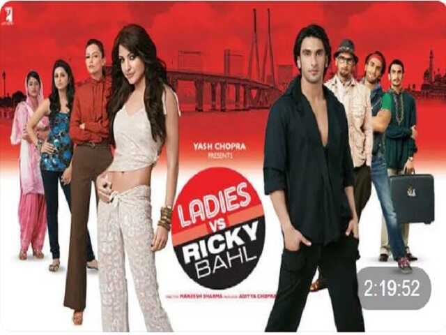 Ladies vs Ricky indian movie in Hindi