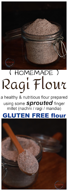 Sprouted Finger Millet Flour