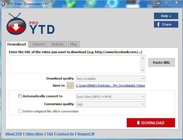 برنامج YTD Video Downloader PRO 5.9.9
