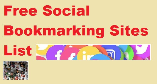 Free bookmarking submission sites List 2020