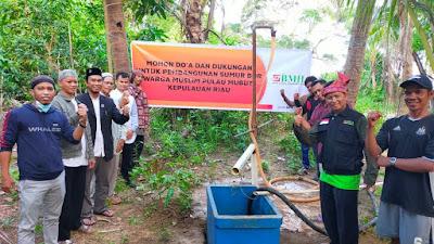 BMH Hadirkan Air Bersih untuk Kampung Pulau Mubud Laut