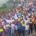Trujillo marcha por la libertad y la democracia