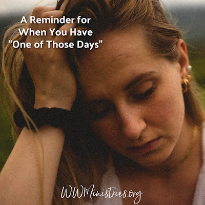 """A Reminder for When You Have """"One of Those Days"""" #stress #anxiety #struggles #struggling #harddays"""