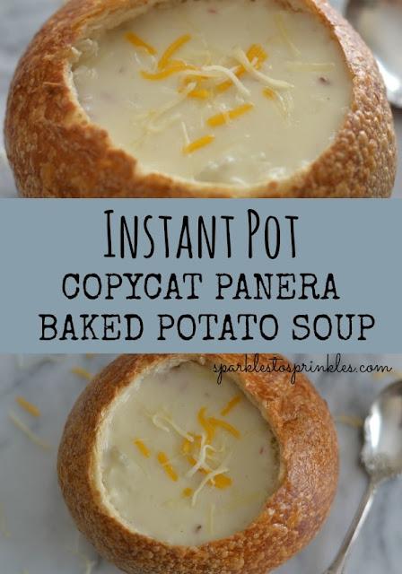 Copycat Panera Baked Potato Soup