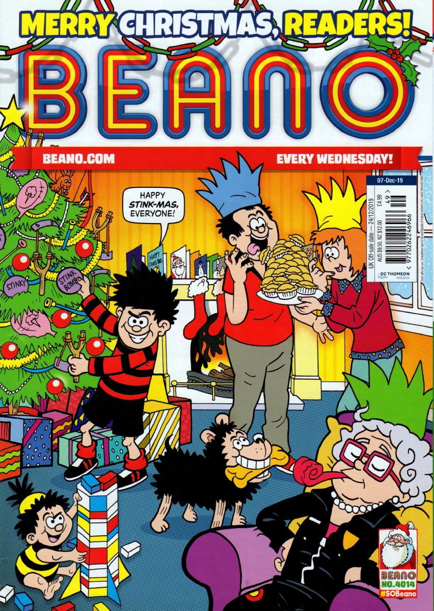 Christmas Comic 2020 CRIVENS! COMICS & STUFF: 2019 CHRISTMAS AND 2020 NEW YEAR BEANO