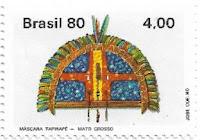 Selo Máscara Tapirapé