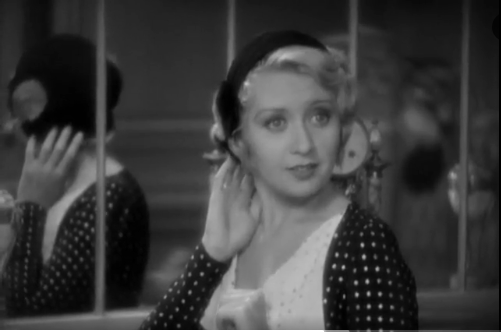 Joan Blondell in Blonde Crazy from 1931