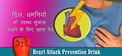 हार्ट अटैक रोकथाम औषधि Heart Attack Prevention Juice in Hindi