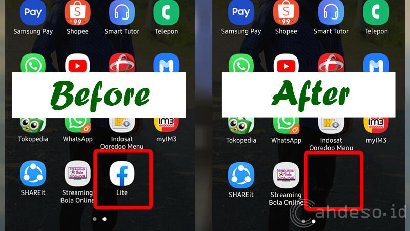 Cara Menyembunyikan Aplikasi Tanpa Aplikasi di HP