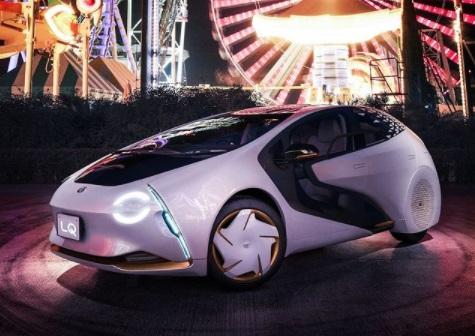 Desain Elegan Toyota LQ