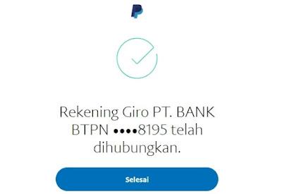 Paypal Terhubung Dengan Bank Indonesia