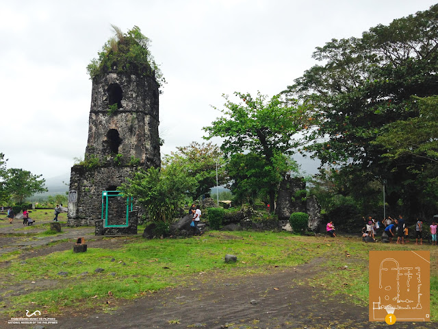 Ruins of Cagsawa Church Belfry