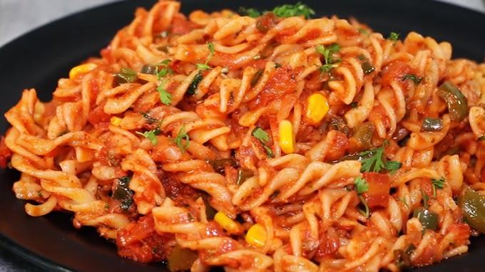 Masala Pasta Recipe easily favorite dish