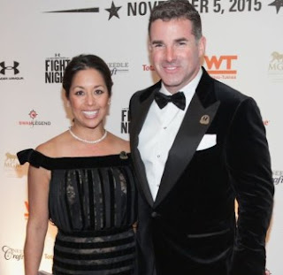 Desiree Jacqueline Guerzon with her husband Kevin Plank