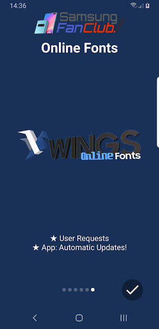 How to Apply Custom Fonts on Samsung Galaxy Phones via Samsung Wings Fonts 3?