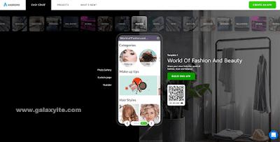 Website untuk Membuat Aplikasi tanpa Koding Gratis