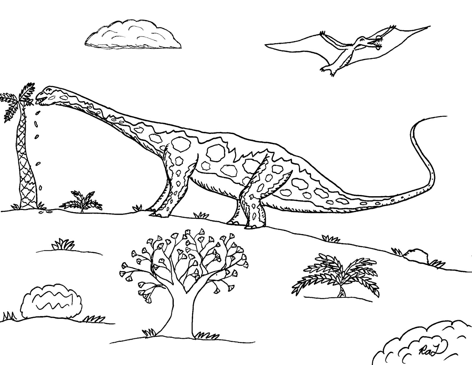 Robin S Great Coloring Pages Biggest Dinosaurs The Sauropods