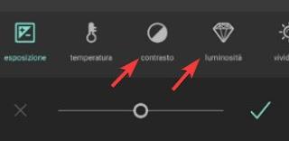 Regolazione Luminosità Contrasto Pixlr