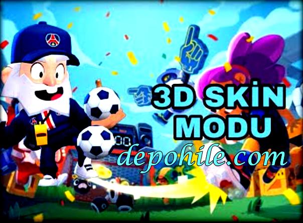 Brawl Stars 3D Skinler ve Elmas Hileli Mod Apk By GMX 2021