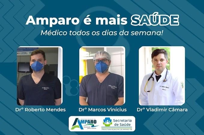 Prefeitura de Amparo através da Secretaria Municipal de Saúde contrata mais um médico plantonista