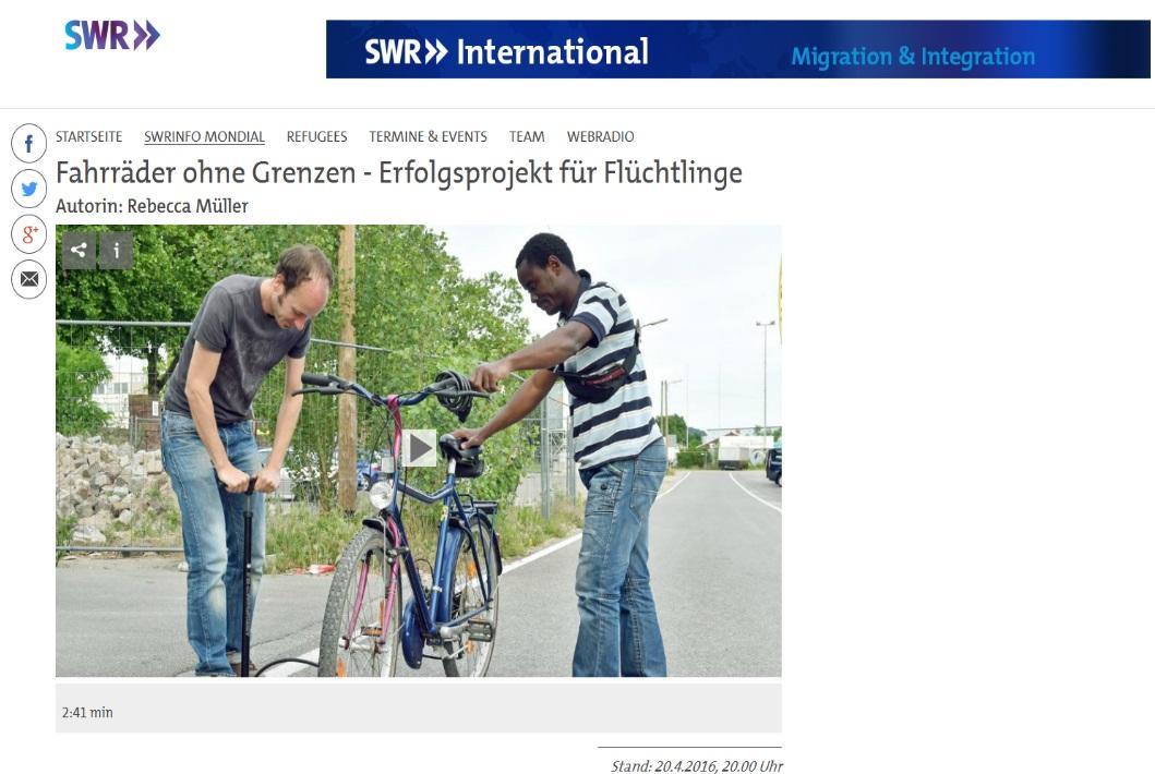 http://www.swr.de/international/swrinfo-mondial/fahrraeder-ohne-grenzen-erfolgsprojekt-fuer-fluechtlinge/-/id=2900538/did=17305154/nid=2900538/raid=17304468/cf7x1z/index.html