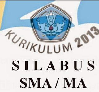 Silabus SMA,MA dan SMK Kurikulum 2013 Revisi Tahun 2016 Semua Mata Pelajaran