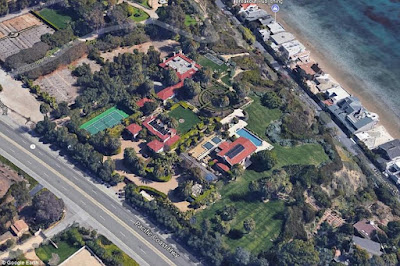 Check out the $400,000 a month Malibu mansion where Beyoncé is renting to bond with her new twins, Jay Z and Blue Ivy