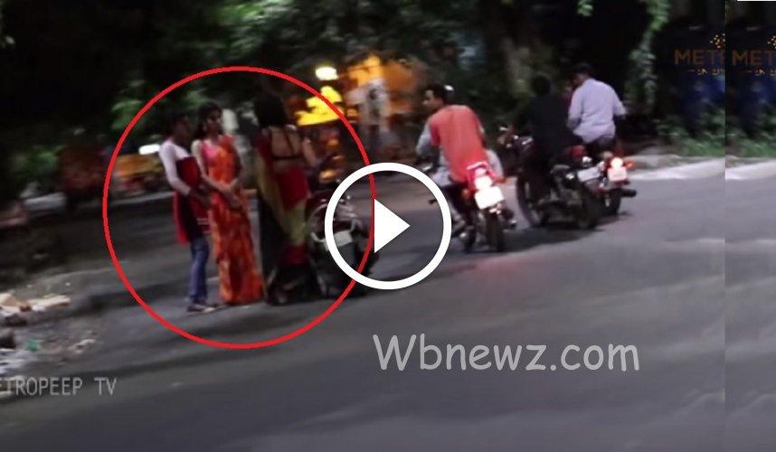 சென்னையில் இரவு 8 மணிக்கே இந்த ஏரியாவில் இப்படி நடக்குதா ? – வீடியோ