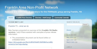 The Franklin Area Nonprofit Network page is now live and functioning