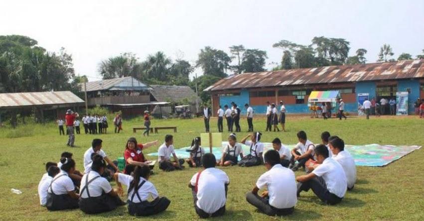 MINEDU realiza campaña de prevención sobre minas antipersonales en Amazonas - www.minedu.gob.pe