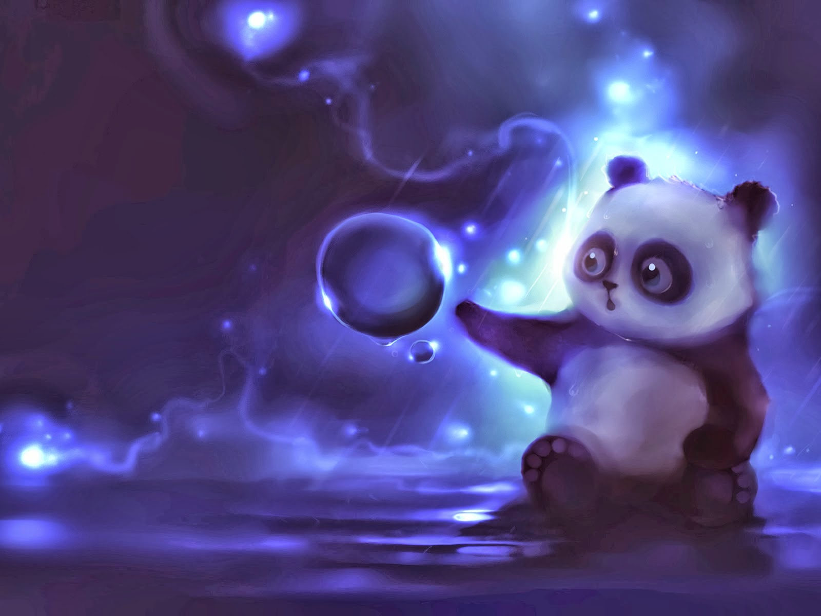 Hd Cute Panda Wallpaper Bonitas Imagenes Para Fondo De Pantalla Imagenes De Amor