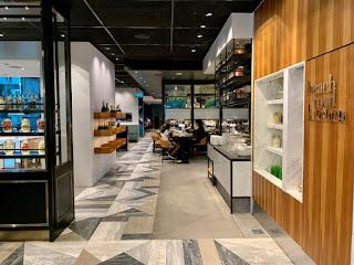 Restaurant interior, Beach Road Kitchen, JW Marriott Singapore Beach Road, 2021