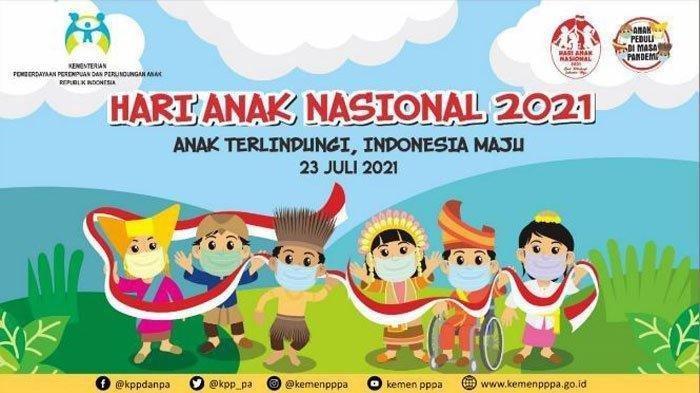 Logo dan Twibbon Hari Anak Nasional 2021