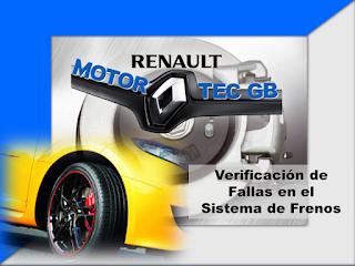Mantenimiento Sistema de Frenos Renault