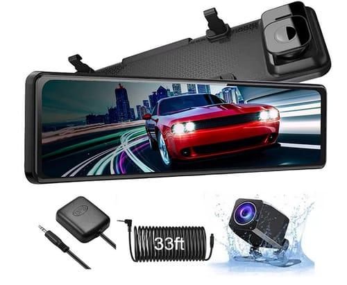 Yuyoop Latest Generation 2021 4K Mirror Dash Cam